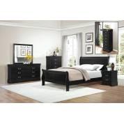 Mayville Bedroom 4Pc Set - Black (QB+NS+DR+MR)