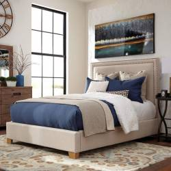 Madeleine II Upholstered California King Bed