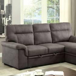 BLAIRE SECTIONAL Graphite Finish