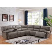 DONOVAN TAUPE SECTIONAL SOFA