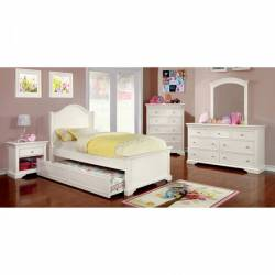 MULLAN 4 Pc. Set (FULL BED +  1NS + DRESSER + MIRROR)