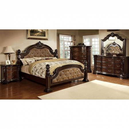 Monte Vista I 5 Pc Set-Chest (Queen Bed + 2Night Stand + Dresser + Mirror)