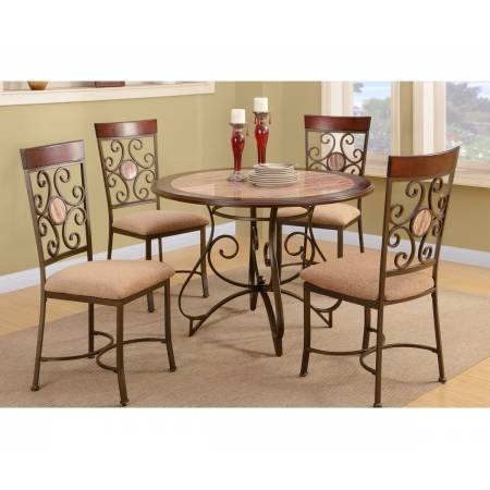 Dining Table F2061 and 4 Side Chair
