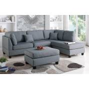 F7606 3-Pcs Sectional