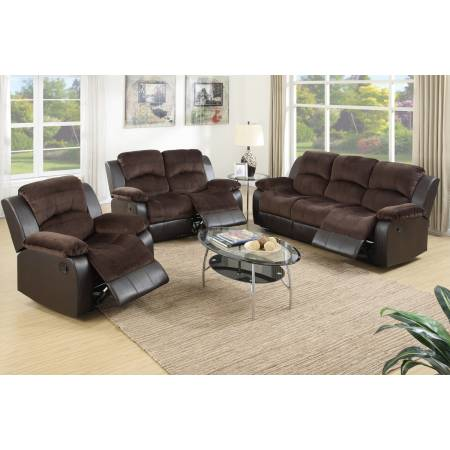 F6695+F6696+F6697 3PC SETS SOFA + LOVESEAT AND RECLINER