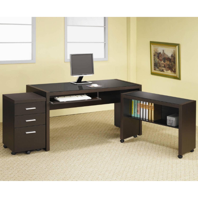 Skylar L Shape Computer Desk with Storage